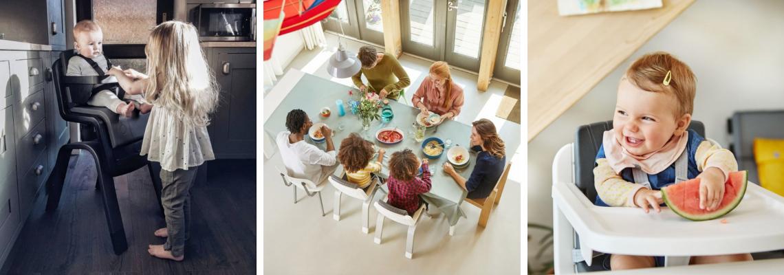 Dětská jídelní židlička Nuna Zaaz
